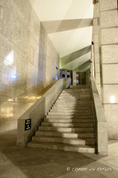 Première de la série photo La Défense by night.