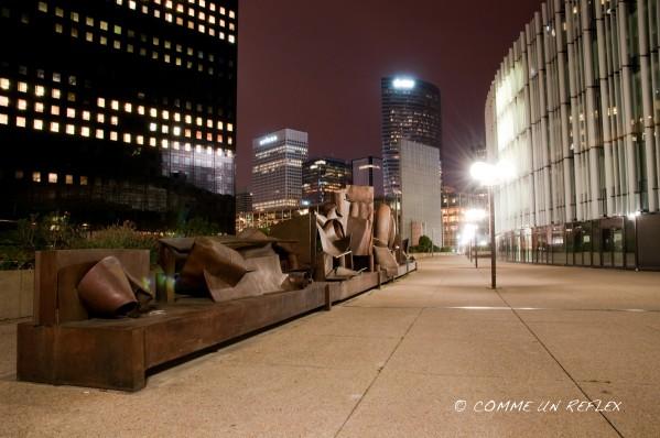 Première série photos de La Défense by night