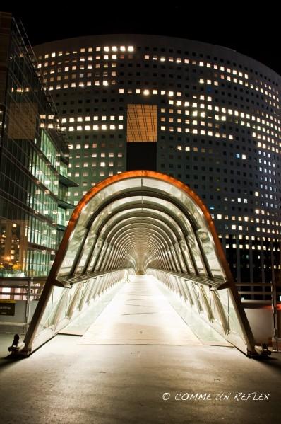 Nouvelle série de photo à La Défense de nuit.