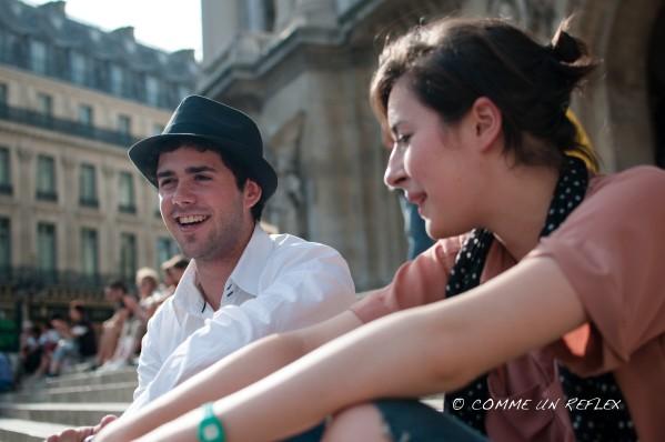 Nouvelle série de portrait de rue à Paris.