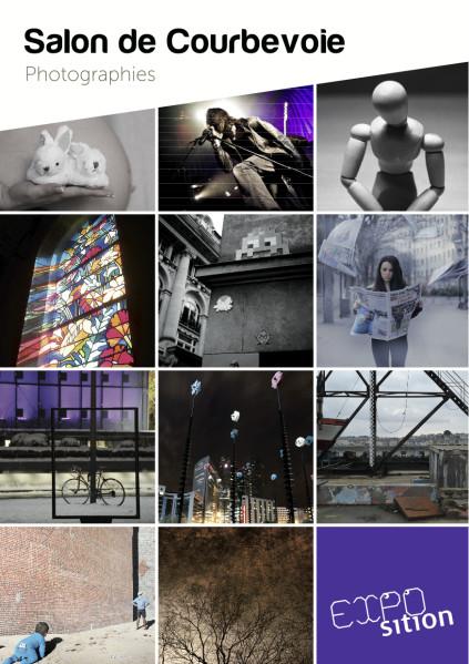 Je suis heureux de vous annoncer que j'exposerai une nouvelle fois certaines de mes photographies à l'occasion du Salon de Courbevoie (Photographies),Exposition-Carton-recto