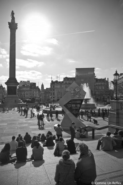 Sous le soleil londonien