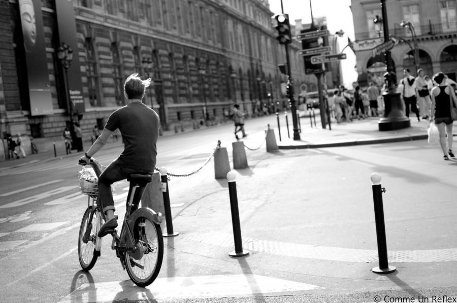 Parisien à vélo