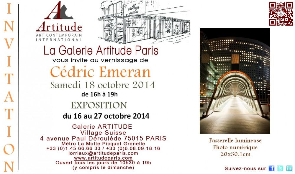 Carton d'invitation exposition