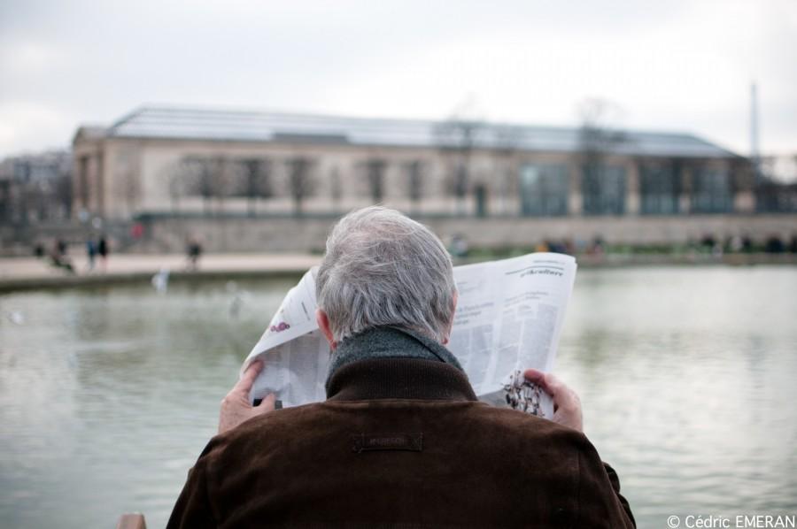 Dans le sens la lecture